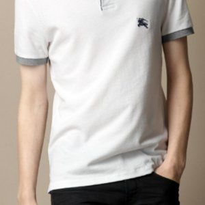 Banana Republic White Polo Size L